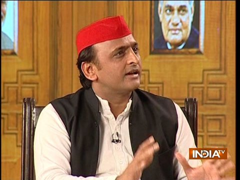 Akhilesh Yadav in Aap Ki Adalat (Full Interview)