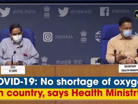 COVID-19: No shortage of oxygen in country, says Health Ministry