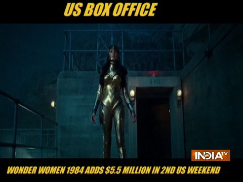'Wonder Woman 1984' adds $5.5 million in 2nd US weekend