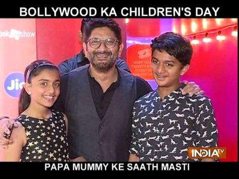 बाल दिवस के मौके पर बॉलीवुड के सितारों ने अपने बच्चों के संग की मस्ती