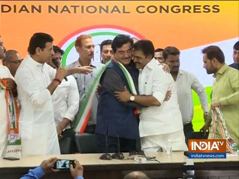 Shatrughan Sinha joins Congress, says BJP has become one man show and two man army