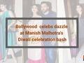 Shilpa Shetty, Nushrat Bharucha, Vaani Kapoor at Manish Malhotra's Diwali bash