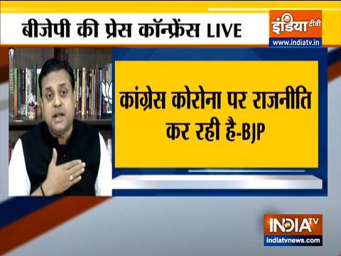 कांग्रेस पार्टी के कार्येकर्ता  गिद्ध की तरह व्यव्हार कर रहे है: संबित पात्रा