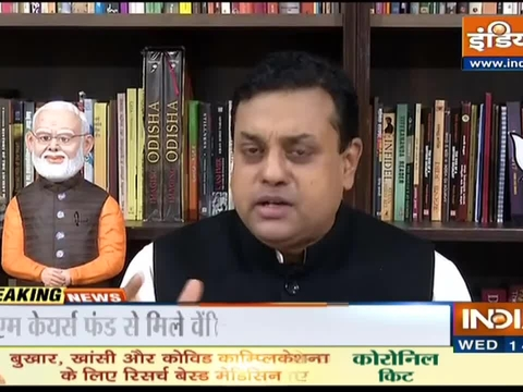 BJP Spokesperson Sambit Patra defends export of covid-19 vaccine amid flak from opposition