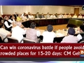 Can win coronavirus battle if people avoid crowded places for 15-20 days: CM Gehlot