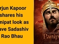 Arjun Kapoor shares his Panipat look as brave Sadashiv Rao Bhau
