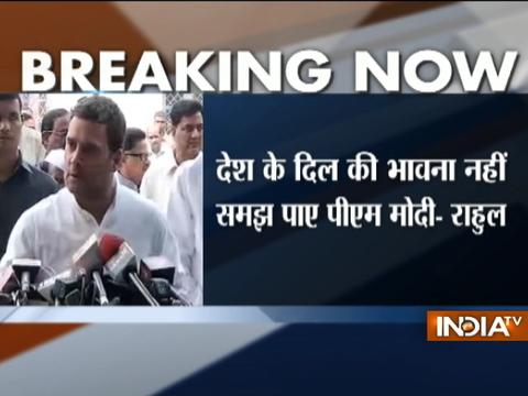 8 Nov is a sad day for India, demonetisation was a disaster, says Rahul Gandhi