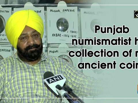 Punjab numismatist has collection of rare ancient coins