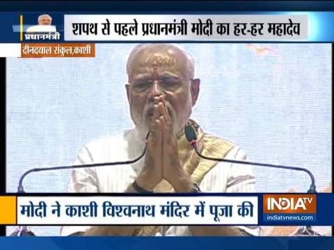 The nation might have elected me as the PM but for you, I am a worker: PM Modi in Varanasi