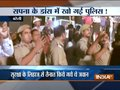 Caught on camera: On duty cops enjoying Sapna Chaudhary's show in UP's Bareilly