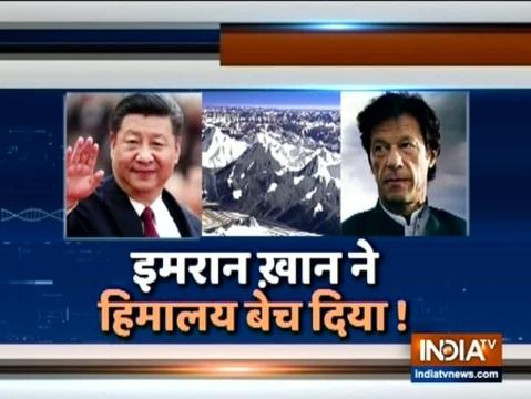 पाकिस्तान ने हिमालय का सौदा किससे किया?