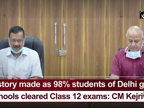 History made as 98% students of Delhi govt schools cleared Class 12 exams: CM Kejriwal