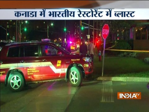Canada: Blast in an Indian restaurant in Mississauga, several injured