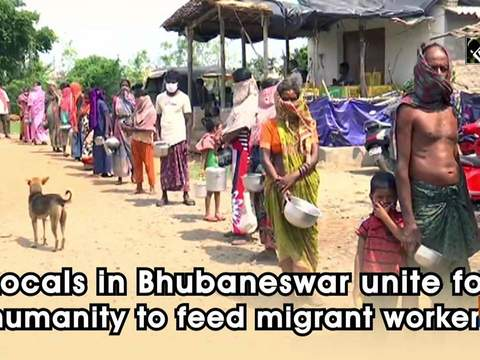 Locals in Bhubaneswar unite for humanity to feed migrant workers