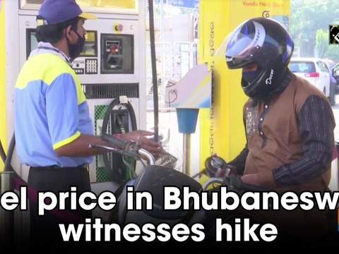 Fuel price in Bhubaneswar witnesses hike