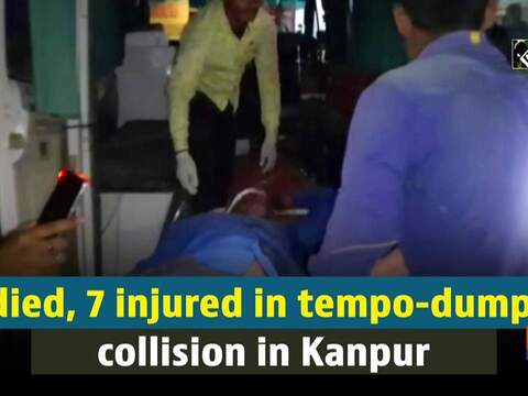 3 died, 7 injured in tempo-dumper collision in Kanpur