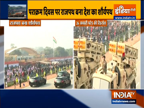 Watch: full dress rehearsal at National War Memorial ahead of Republic Day