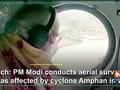 Watch: PM Modi conducts aerial survey of areas affected by cyclone Amphan in WB