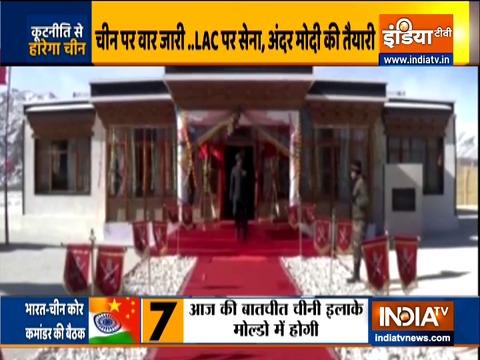भारत-चीन के बीच कोर कमांडर स्तर की छठे दौर की वार्ता आज