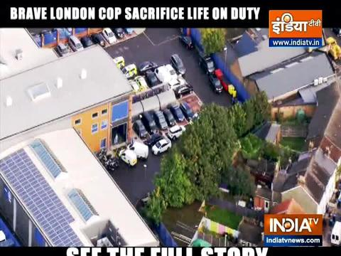 Brave London cop sacrifice life on duty