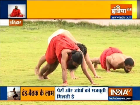 Dand Baithak exercises are very effective for anti-aging: Swami Ramdev