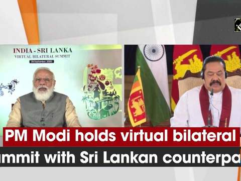 PM Modi holds virtual bilateral Summit with Sri Lankan counterpart