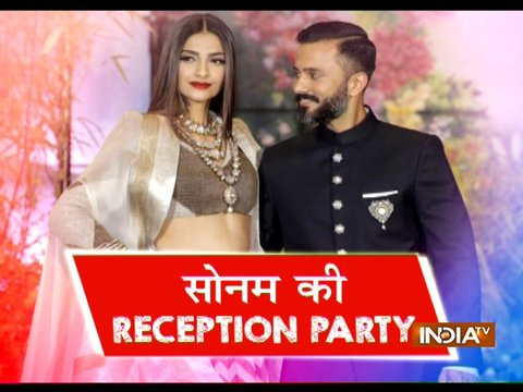 Sonam Kapoor Wedding Reception: SRK, Alia Bhatt, Karan Johar and others attend in style