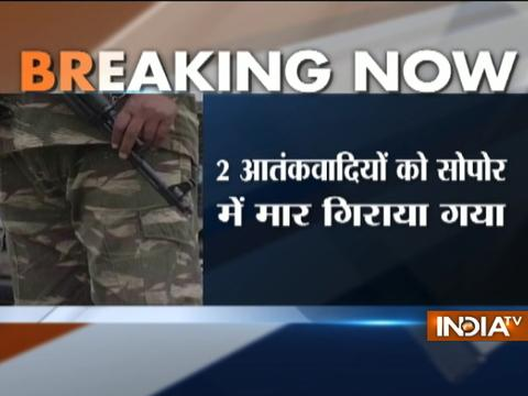 Jammu and Kashmir: Security forces gun-down two terrorists in Sopore