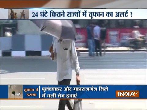 दिल्ली-एनसीआर और यूपी के कई हिस्सों में दिखा आंधी-तूफ़ान का कहर