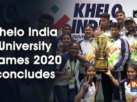 Khelo India University Games 2020 concludes