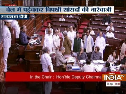 Ruckus in Rajya Sabha over Alwar lynching case