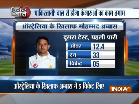 Abbas has shown India how they should bowl against Australia
