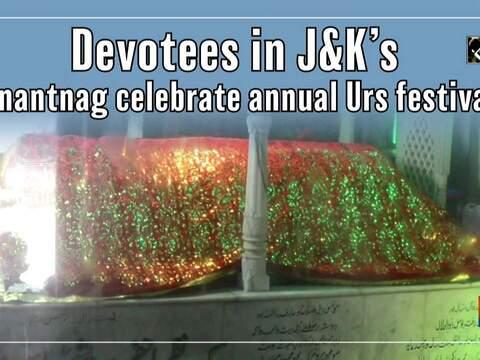 Devotees in J&K's Anantnag celebrate annual Urs festival