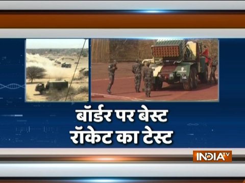 India successfully test-fires MultiBarrel Rocket Launcher BM-21