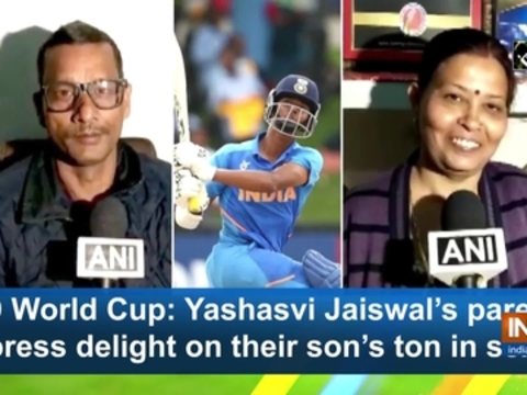 U19 World Cup: Yashasvi Jaiswal's parents express delight on their son's ton in semis