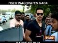 Tiger Shroff inaugurates GADA