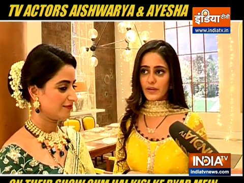 TV actors Aishwarya and Ayesha on their show Ghum Hai Kisikey Pyaar Meiin