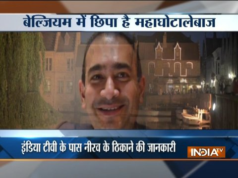 Is Nirav Modi hidden in Belgium's Bruges?