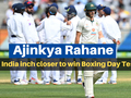 AUS vs IND: Ajinkya Rahane-led India inch closer to win Boxing Day Test