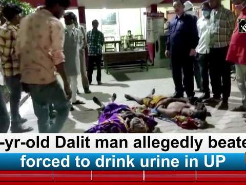 65-yr-old Dalit man allegedly beaten, forced to drink urine in UP
