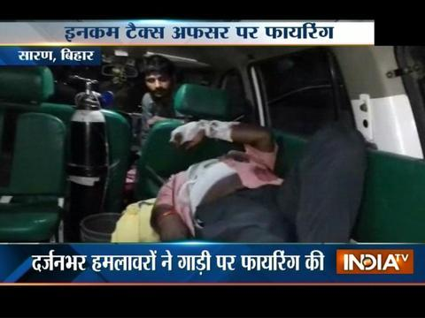Deadly attack over Income Tax Officer in Bihar