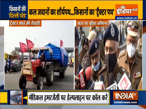Delhi Police warns Farmers' Unions against disrupting Republic Day Parade