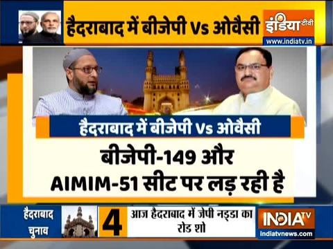 Hyderabad civic polls: BJP's master plan to counter Asaduddin Owaisi in GHMC polls