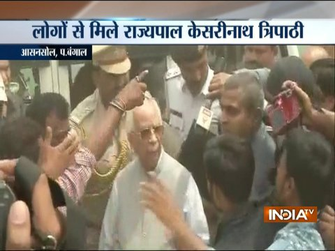 West Bengal violence: Governor Keshari Nath Tripathi visits Asansol to take stock of the situation