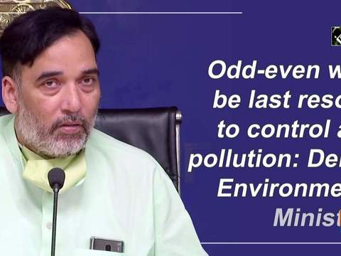 Odd-even will be last resort to control air pollution: Delhi Environment Minister