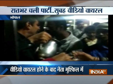 BJP councillor organises liquor party in Bhopal, video goes viral on social media