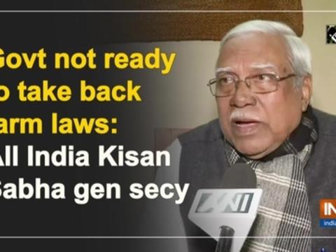 Govt not ready to take back farm laws: All India Kisan Sabha gen secy