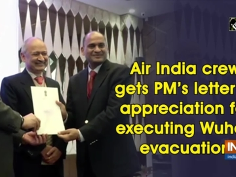 Air India crew gets PM's letter of appreciation for executing Wuhan evacuation