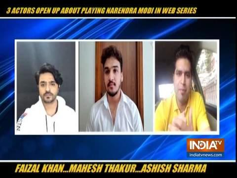 Mahesh Thakur, Faizal Khan and Ashish Sharma on playing PM Modi in Modi Season 2