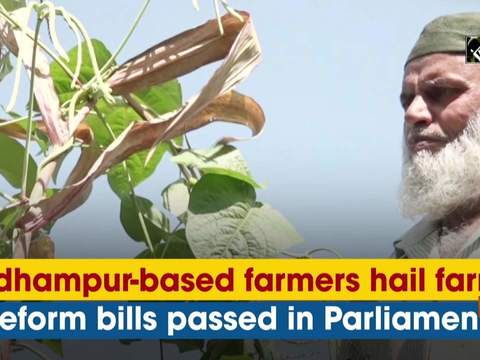 Udhampur-based farmers hail farm reform bills passed in Parliament